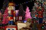 Christmas display at Farley's in Santa Cruz