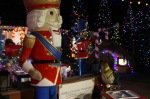 Shiny giant nutcracker at Farley's in Santa Cruz