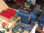 Making Christmas lights
